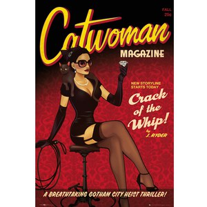 DC Comics Catwoman Bombshell - 24 x 36 Inches Maxi Poster