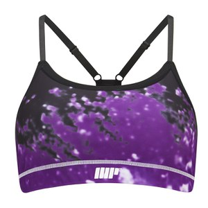 Myprotein Women's Power Bra – Purple