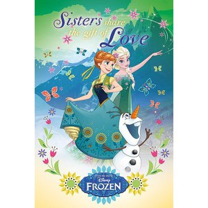 Disney Frozen Fever Gift of Love -61 x 91,5cm Maxi Póster
