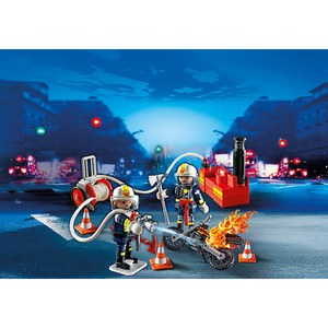 Playmobil Firefighters with Water Pump (5365)
