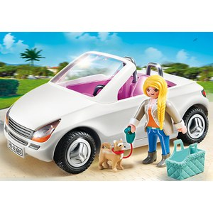 Playmobil Convertible Car with Woman (5585)