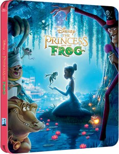 The Princess and the Frog (Edición de Reino Unido) - Steelbook Exclusivo de Edición Limitada