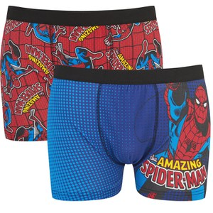 Spiderman Men's 2 Pack Boxers - Red