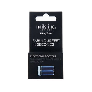 MICRO Pedi Nails Inc. Micro Pedi Replacement Rollers (2 Pack)