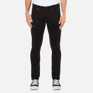 Edwin Men's ED85 Slim Tapered Low Crotch Rinsed Wash Denim Jeans - Black
