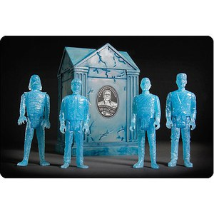 ReAction Universal Monsters Blue Glow SDCC Exclsuive 4 Pack Figures