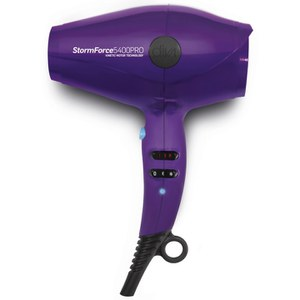 Diva Professional Styling StormForce5400Pro Hair Dryer - Purple (Super Compact Dryer)
