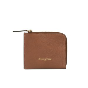 Maison Kitsuné Men's Leather Coin Purse - Havane
