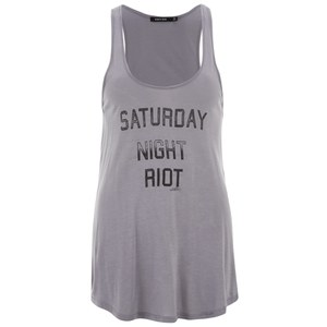 OBEY Clothing Women's Saturday Night Raglan Top - Graphite