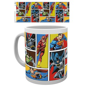 DC Comics Justice League Grid - Taza