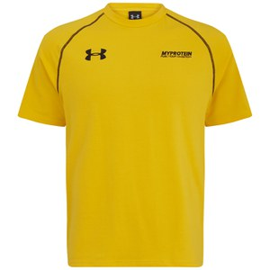 Under Armour Escape Charged Cotton T-Shirt Herr, Guld