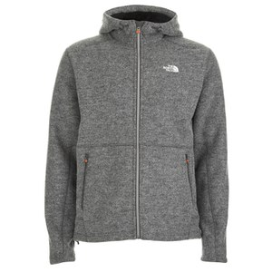 The North Face Men's Zermatt Full Zip Hoody - Heather Grey