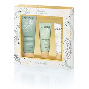 Caudalie Cleanser Mask Trio Set (Worth £37.00)