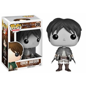 Attack on Titan Eren Jaeger Limited Edition Black and White Pop! Vinyl Figure