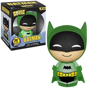 DC Comics Batman 75th Anniversary Green Rainbow Batman Dorbz Figur