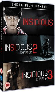 Insidious Triple Pack (Slimline Single Amaray)
