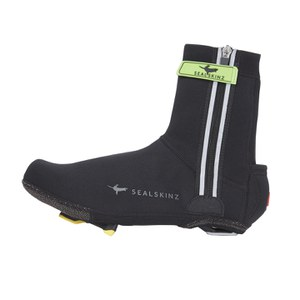 SealSkinz Halo Overshoes - Black/Red