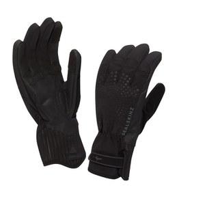 SealSkinz Women's Brecon XP Cycle Gloves - Black/Black