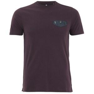 Luke 1977 Men's Progressive Mesh Pocket Crew Neck T-Shirt - Lux Port