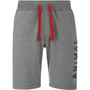 Animal Men's Ponsford Track Shorts - Charcoal Marl