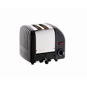 Dualit 20237 Classic Vario 2 Slot Toaster - Black