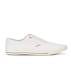 Jack & Jones Men's Spider Canvas Pumps - Bright White