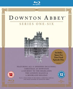 Downton Abbey - Staffel 1-6 Blu-ray
