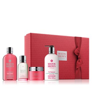 Molton Brown Fiery Pink Pepper Pampering Body Gift Set (Worth £92.00)