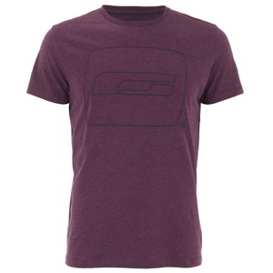 Jack & Jones Men's Core Logo T-Shirt - Fig Melange