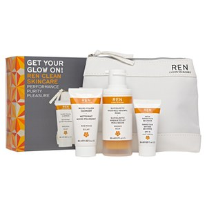 REN Get Your Glow on Gift Set (Worth £46.80)
