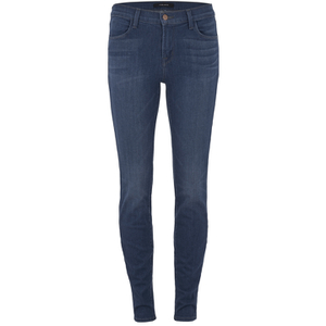 J Brand Women's 620 Mid Rise Super Skinny Jeans - Enigma