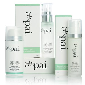 Pai Skincare Instant Calm Moisturiser, Toner and Cleanser Kit (Worth £98)