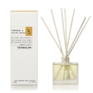 Stoneglow Modern Apothecary No. 5 Reed Diffuser - Verbena and Spiced Woods