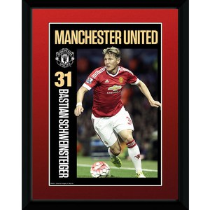 Manchester United Scweinsteiger 15/16 - 8 x 6 Inches Framed Photographic