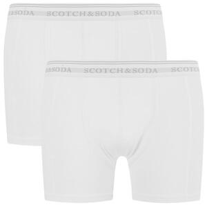 Scotch & Soda Men's Allover Printed Boxer Shorts - White