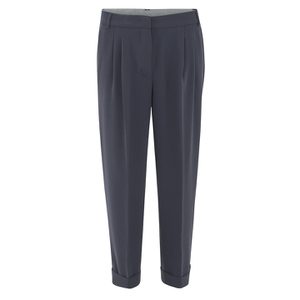 Sportmax Code Women's Cobra Long Trousers - Navy