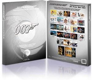 James Bond Limited Edition Print Set