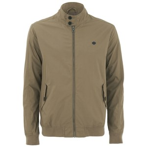 Threadbare Men's Dibble Harrington Jacket - Stone