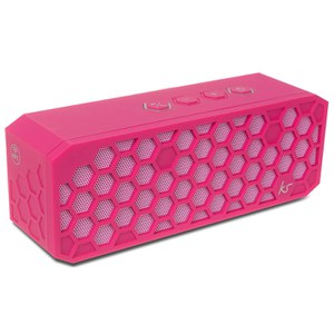 Kitsound Hive 2 Bluetooth Wireless Portable Stereo Speaker - Pink