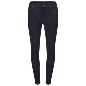 Cheap Monday Women's Second Skin High Waisted Skinny Jeans - Real Blue