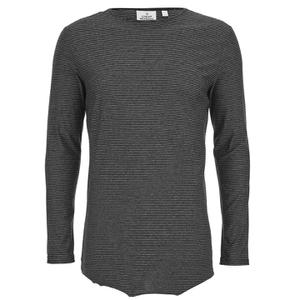 Cheap Monday Men's Foresee Long Sleeve T-Shirt - Black/Grey