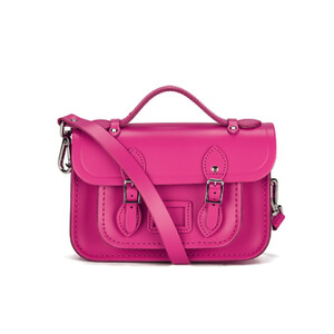 The Cambridge Satchel Company Women's The Mini Magnetic Closure Satchel Bag - Pink