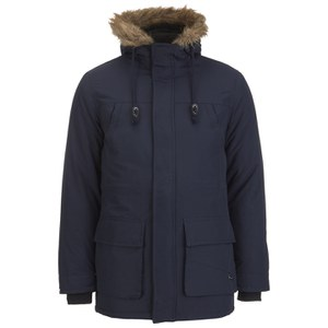 Le Shark Men's Radley Faux Fur Trimmed Parka - True Navy