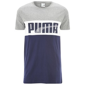 Puma Men's Game Logo T-Shirt - Peacoat