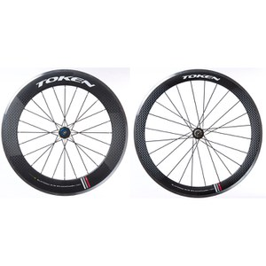 Token C580A 55/80mm Carbon/Alloy Clincher Wheelset