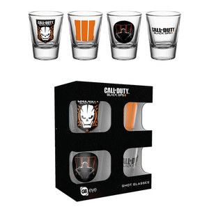 Call Of Duty Mix - Shot Glasses