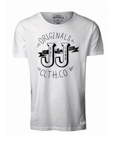 Jack & Jones Men's Light T-Shirt - Cloud Dancer