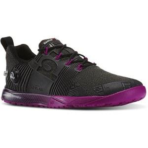 Reebok Women's Crossfit Nano Pump Fusion Trainers - Black/Purple
