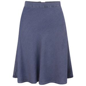 Selected Femme Women's Debora Denim Skirt - Mid Blue