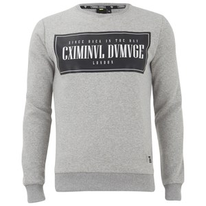 Criminal Damage Men's Since Sweatshirt - Grey